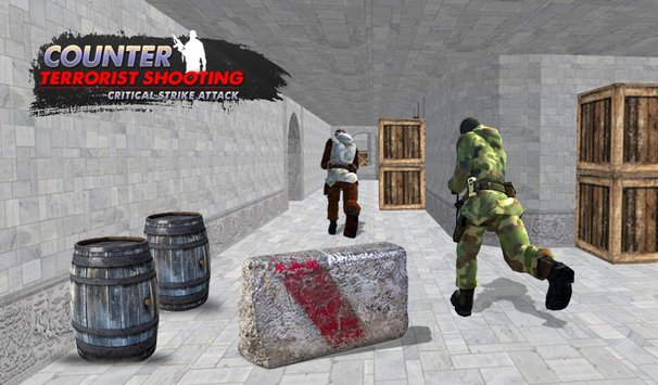 Counter Terrorist Shooting Critical Shoot Attack2