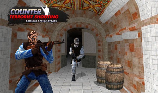 Counter Terrorist Shooting Critical Shoot Attack3