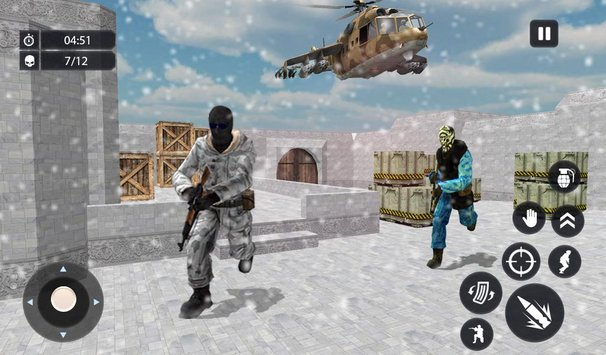 Counter Terrorist Shooting Critical Shoot Attack6