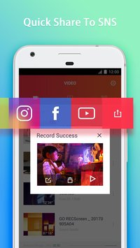 GO Recorder Screen Recorder Video Editor4