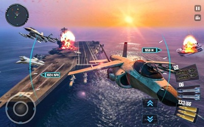 Sky Fighter Plane Flight Pilot Battle Simulator