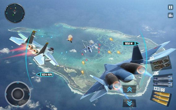 Sky Fighter Plane Flight Pilot Battle Simulator3