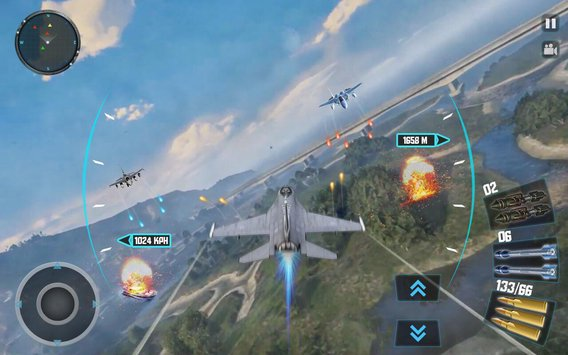 Sky Fighter Plane Flight Pilot Battle Simulator5