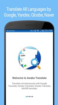 Translate All Languages by Google Yandex Glosbe1