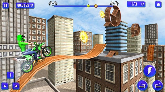 Tricky Bike Trail Rivals 2
