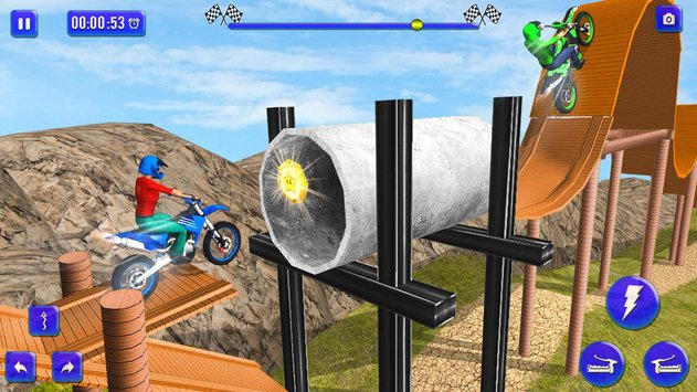 Tricky Bike Trail Rivals 3