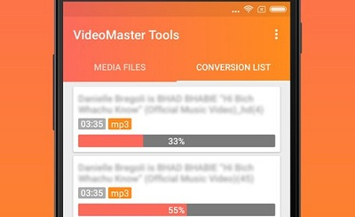 VideoMaster Tools mp4 to mp3 convertercutter
