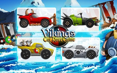 Viking Legends Funny Car Race Game