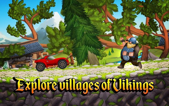 Viking Legends Funny Car Race Game2