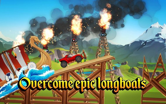 Viking Legends Funny Car Race Game3