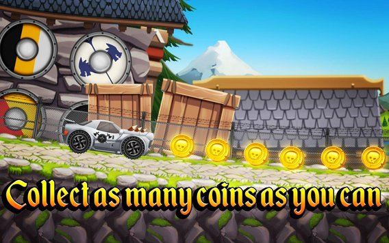 Viking Legends Funny Car Race Game5