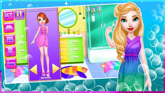 Dream Doll House Decorating Game3