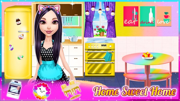 Dream Doll House Decorating Game4
