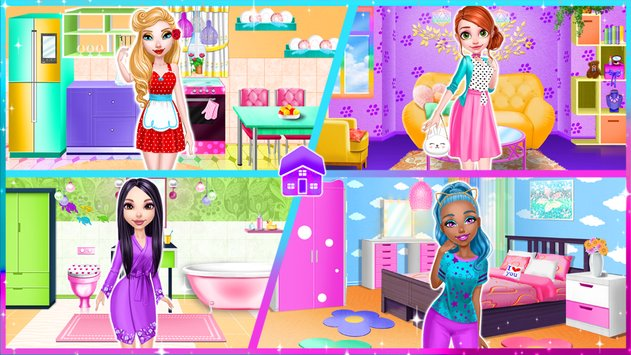 Dream Doll House Decorating Game5