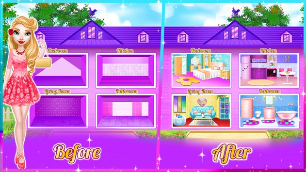 Dream Doll House Decorating Game6