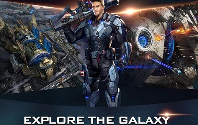 Galaxy Wars Rise of the Terrans 3D Scifi Game