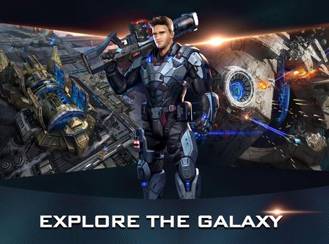 Galaxy Wars Rise of the Terrans 3D Scifi Game1