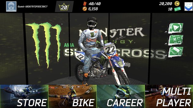 Monster Energy Supercross Game1