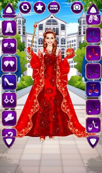 Royal Dress Up Queen Fashion Salon3