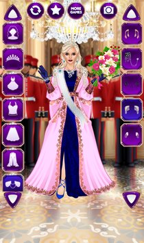 Royal Dress Up Queen Fashion Salon4