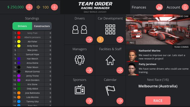 Team Order Racing Manager4