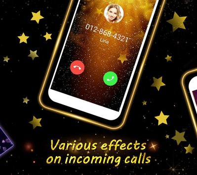 Phone Caller Screen Color Call Flash Theme1