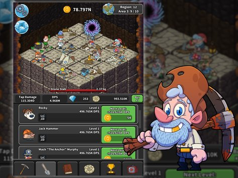 Tap Tap Dig Idle Clicker Game6