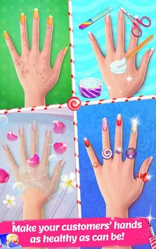 Candy Nail Art Sweet Fashion3