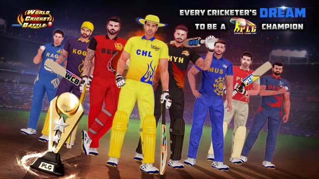 World Cricket Battle1
