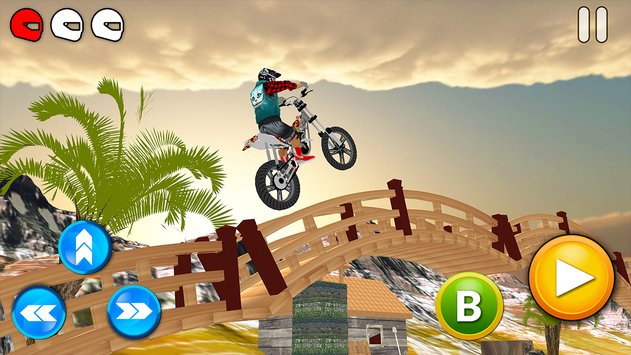 Tricky Bike Racing With Crazy Rider 3D1