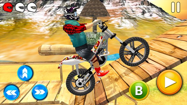 Tricky Bike Racing With Crazy Rider 3D3
