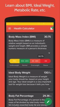 Health Fitness Tracker with Calorie Counter8