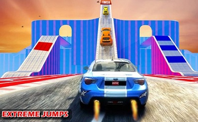 Impossible Stunts Car Racing Driving Simulator