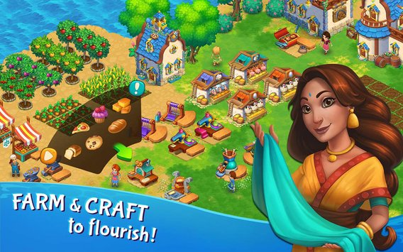 Tidal Town – A New Magic Farming Game 2