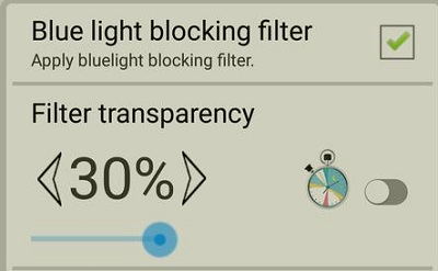 Bluelight blocking protect eyes