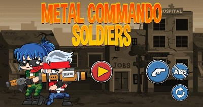 Metal Commando Soldiers