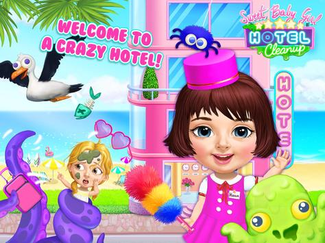 Sweet Baby Girl Hotel Cleanup Crazy Cleaning Fun7