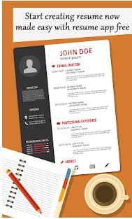 Create Professional Resume CV1