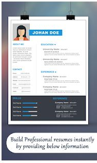 Create Professional Resume CV2
