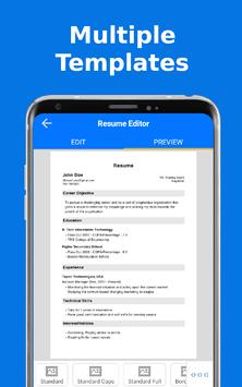 Top Resume Pdf Builder for freshers and experience2