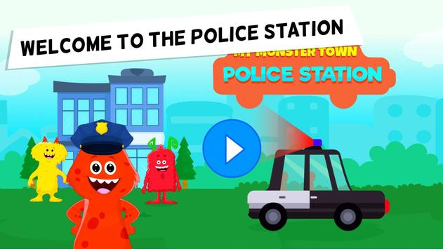 My Monster Town Police Station Games for Kids1