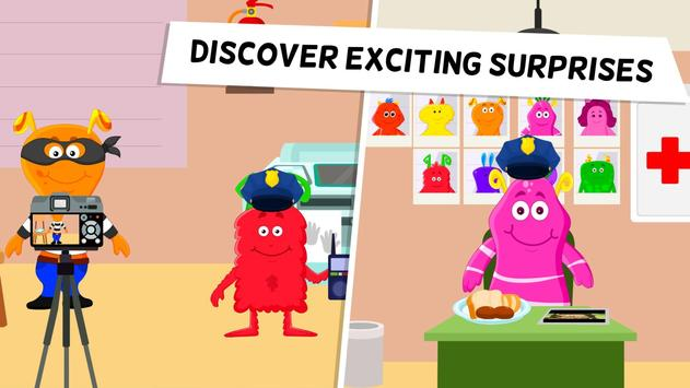 My Monster Town Police Station Games for Kids4