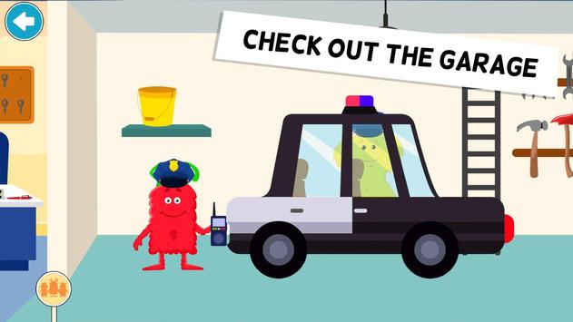My Monster Town Police Station Games for Kids6