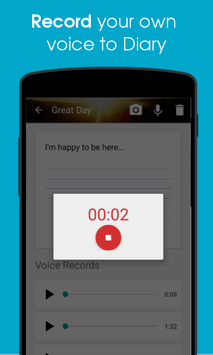 Voice Diary with Photos amp Videos2