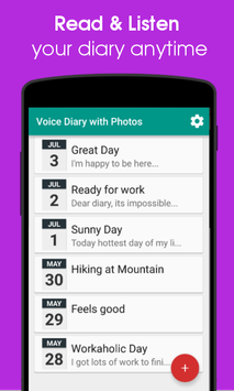 Voice Diary with Photos amp Videos4