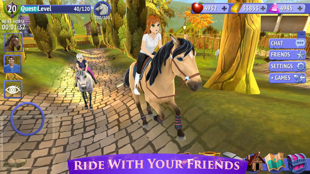 Horse Riding Tales Ride With Friends1