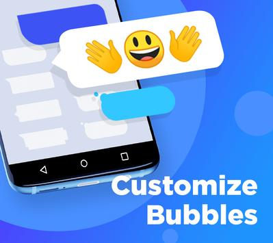 Color SMS Themes Customize chat Emoji6