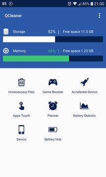 QCleaner Cleaner Memory Unloader and Game Booster1
