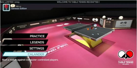 Table Tennis Recrafted Genesis Edition 2019 Early Access1