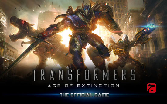 بازی اندروید TRANSFORMERS AGE OF EXTINCTION v1.4.1